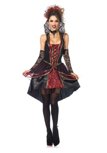 Click Here to buy Womens Vampire Queen Costume from HalloweenCostumes, CDN Funds & Shipping