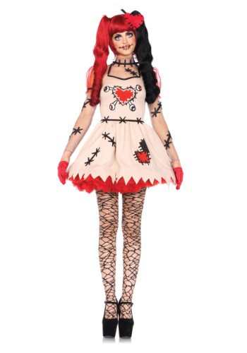 Click Here to buy Womens Voodoo Cutie Costume from HalloweenCostumes, CDN Funds & Shipping