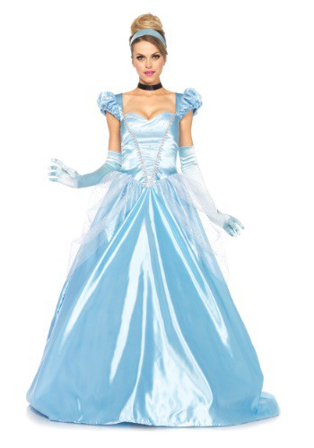 Click Here to buy Cinderella Costume: Classic Full Length Gown for Women from HalloweenCostumes, CDN Funds & Shipping