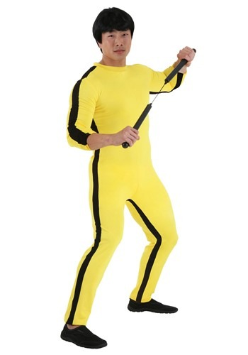Mens Bruce Lee Costume