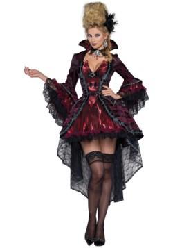 Womens Elegant Victorian Vamp Costume