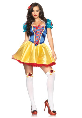 Click Here to buy Fairytale Snow White Costume from HalloweenCostumes, CDN Funds & Shipping