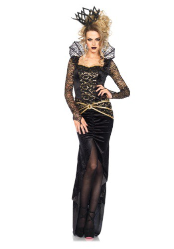 Click Here to buy Deluxe Evil Queen Womens Costume from HalloweenCostumes, CDN Funds & Shipping