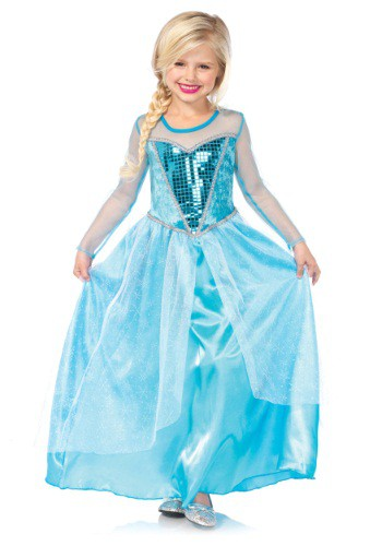 Child Fantasy Snow Queen Costume