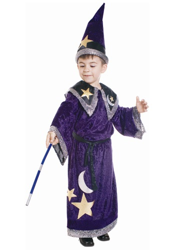 Kids Magic Wizard Costume