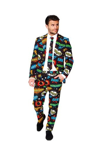 Men's Opposuits Badaboom Comic Suit