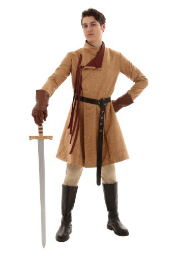Mens Renaissance Costume Coat