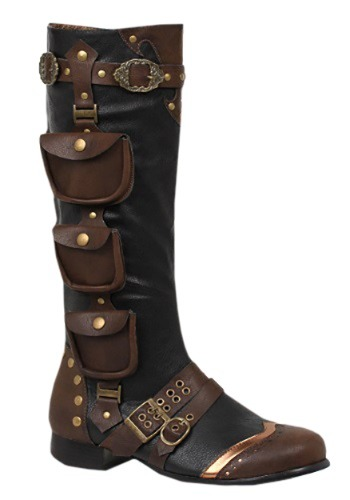 Mens Steampunk Boots