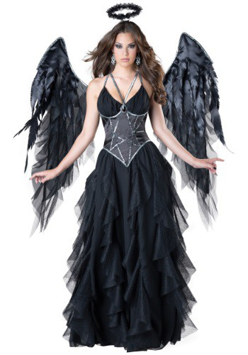 Click Here to buy Womens Dark Angel Costume from HalloweenCostumes, CDN Funds & Shipping