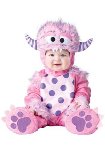 Click Here to buy Baby/Toddler Lil Pink Monster Costume from HalloweenCostumes, CDN Funds & Shipping