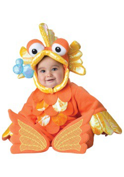 Infant/Toddler Giggly Goldfish Costume