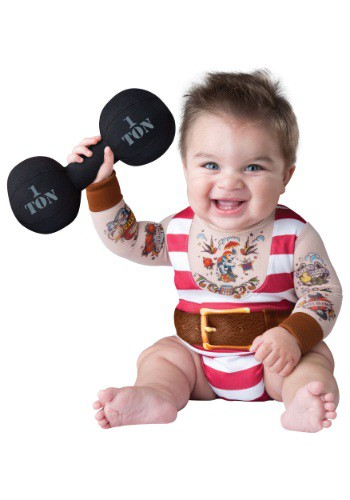 Infant / Toddler Silly Strongman Costume