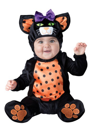 Click Here to buy Baby & Toddler Mini Meow Cat Costume from HalloweenCostumes, CDN Funds & Shipping