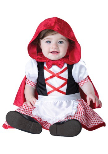 Click Here to buy Baby & Toddler Little Red Riding Hood Costume from HalloweenCostumes, CDN Funds & Shipping