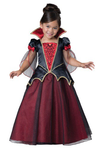 Click Here to buy Toddler Vampiress Costume from HalloweenCostumes, CDN Funds & Shipping