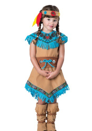 Girls Toddler Indian Costume