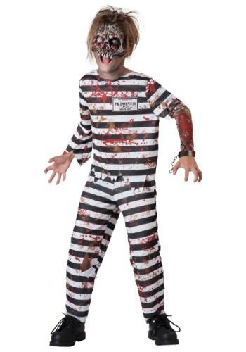 Child Creepy Convict Costume