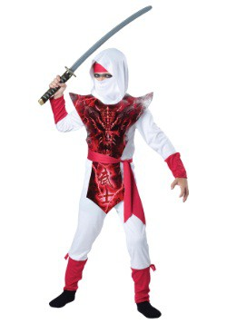 Boy's Ghost Ninja Costume