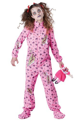 Click Here to buy Kids Zombie Girl Costume from HalloweenCostumes, CDN Funds & Shipping