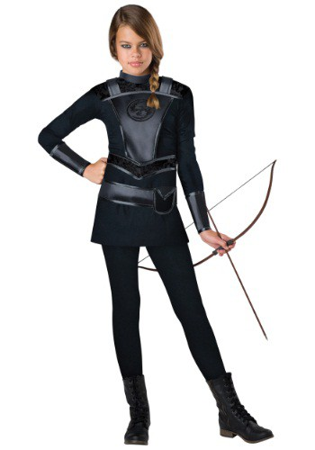 Tween Warrior Huntress Costume | Movie Character Costume