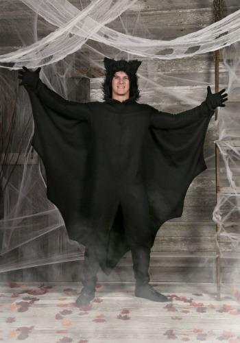 Plus Fleece Bat Costume