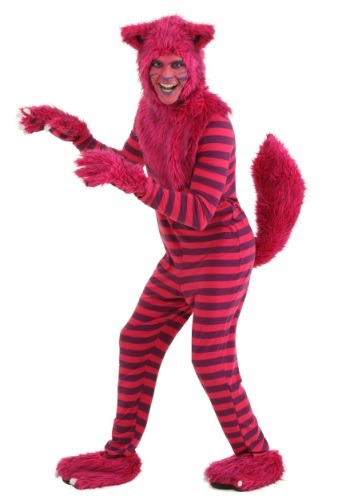 Click Here to buy Adult Deluxe Cheshire Cat Costume from HalloweenCostumes, CDN Funds & Shipping