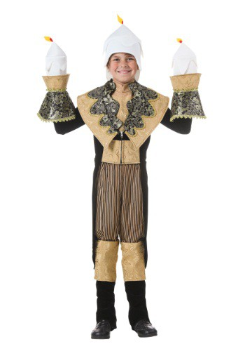 Click Here to buy Kids Candlestick Costume from HalloweenCostumes, CDN Funds & Shipping