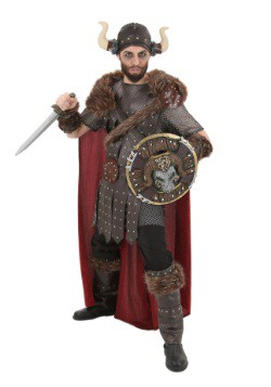 Plus Size Legendary Viking Warrior Costume