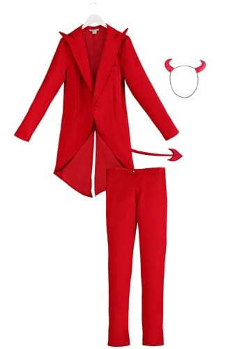 Click Here to buy Adult Red Suit Devil Costume from HalloweenCostumes, CDN Funds & Shipping