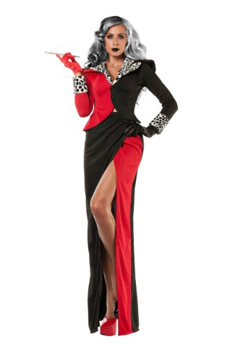 Women's Plus Size Cruella DeVil Costume
