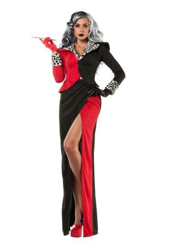 Women's Plus Size Cruella DeVil Costume