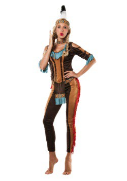 Womens Tribal Native American Costume