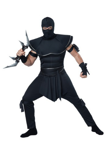 Click Here to buy Adult Ninja Warrior Costume from HalloweenCostumes, CDN Funds & Shipping