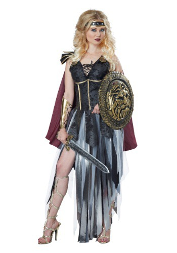 Womens Roman Gladiator Costume