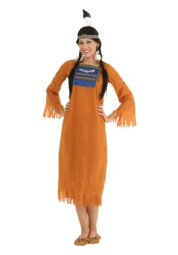 Click Here to buy Womens Native American Dress Costume from HalloweenCostumes, CDN Funds & Shipping