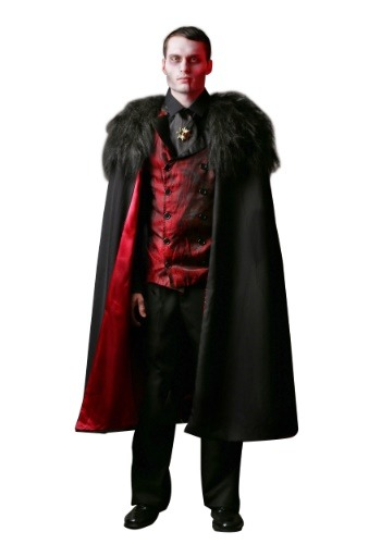 Plus Size Deluxe Mens Vampire Costume