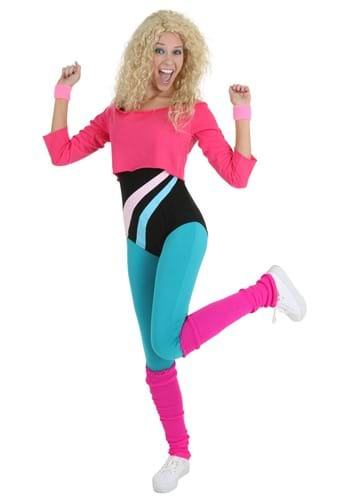 Click Here to buy Womens 80s Workout Girl Costume from HalloweenCostumes, CDN Funds & Shipping