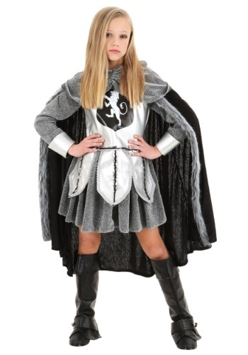 Girls Warrior Knight Costume