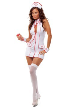 Women's Frisky Nurse Costume