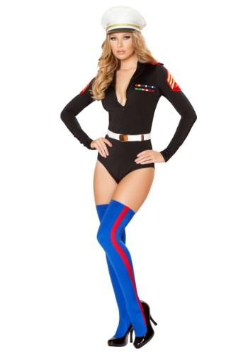 Women's Sexy Marine Costume