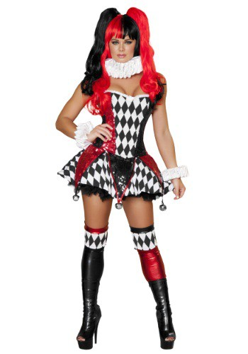 Womens Court Jester Cutie Costume