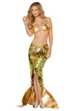 Women's 2 Pc Sultry Sea Siren Costume