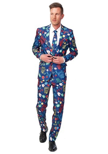 Mens SuitMeister Basic Vegas Suit Costume