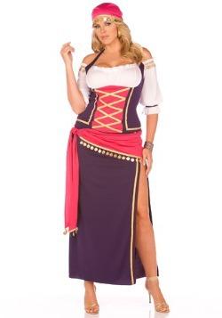 Plus Size Maiden Fortune Teller Costume