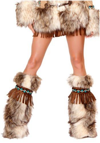 Fringe Eskimo Leg Warmers