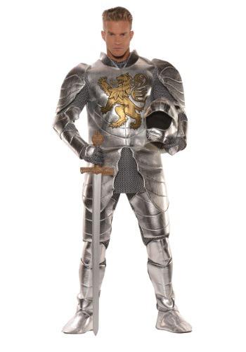 Men's Plus Size Knight in Shining Armor Costume