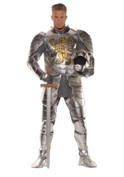 Men's Plus Size Knight in Shining Armor Costume
