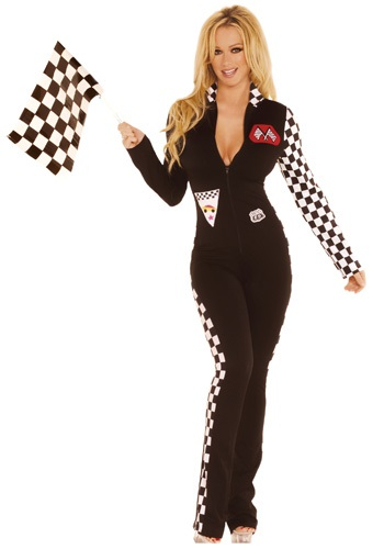 Sexy Race Car Jumpsuit Costume