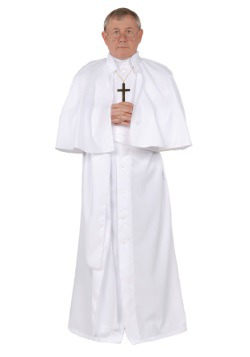 Men's Plus Size Pope Costume