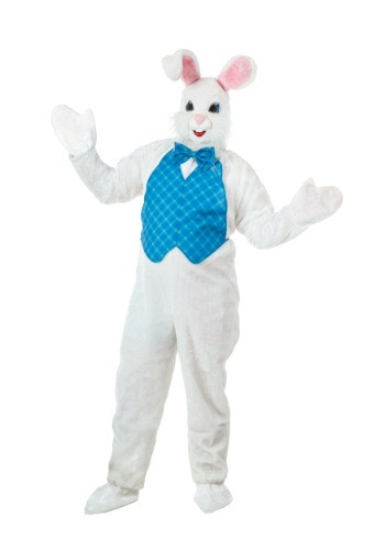Click Here to buy Plus Size Mascot Easter Bunny Costume from HalloweenCostumes, CDN Funds & Shipping